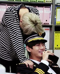 Vmin being too cute for this world ❤️