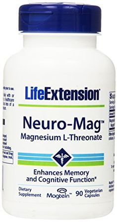 Life Extension Neuro-mag Magnesium L-threonate Dietary Su...