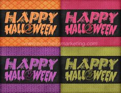 FREE Happy #Halloween Greeting Cards Printable   Great for party invites, greetings or just because.  More freebies from #Netchicks Marketing:  http://netchicksmarketing.com/netchicks-marketplace/freebies/