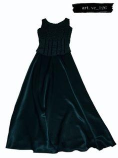 Vestido Largo De Noche Verde Sarah Elizabeth - $ 560.00