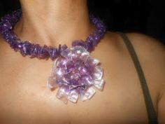 **1***///vis******************///Ysahs creativa Hobby: fare gioielli da bottiglia di plastica