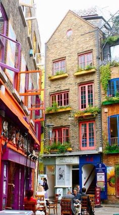 Neals Yard, London, England, UK