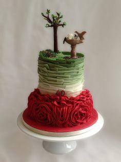 40th Anniversary garden cake | Flickr - Photo Sharing!