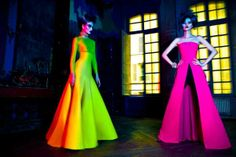 Kaleidoscopic Fairytale Fashion - The September L'Officiel China by Michelle Du Xuan Radiates (GALLERY)