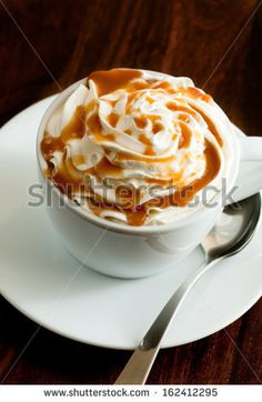 Are you excited for the crisp air of fall? Warm up with this recipe for a Toffee Latte.