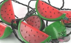 Summertime Watermelon Electric Party Lights Watermelon Festival, Watermelon Patch, Watermelon And Lemon, Watermelon Decor, Watermelon Wedding, National Watermelon Day, Hipster Decor, Strawberry Kitchen, One In A Melon