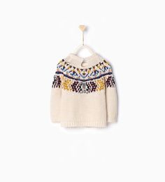 Image 2 of Jacquard knit sweater from Zara