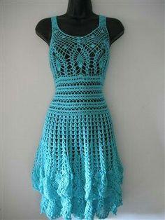 10 unique and free crochet dress patterns for women all elegant mint summer crochet dress size m media crochet me dt1010fo