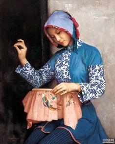 Coser | Cuaderno de retazos cuadernoderetazos.wordpress.com643 × 800Buscar por imagen 蒋昌一Jiang Changyi  mujeres cosiendo - Buscar con Google