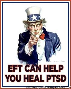 """A cure for PTSD (Post Traumatic Stress Disorder)? Some forms of Energy Psychology, like Thought Field Therapy (TFT), Emotional Freedom Techniques (EFT), and the Tapas Acupressure Technique (TAT), may """"quickly"""" heal long-standing traumas.  I coach Vets and see first-hand the incredible changes, using EFT!"""