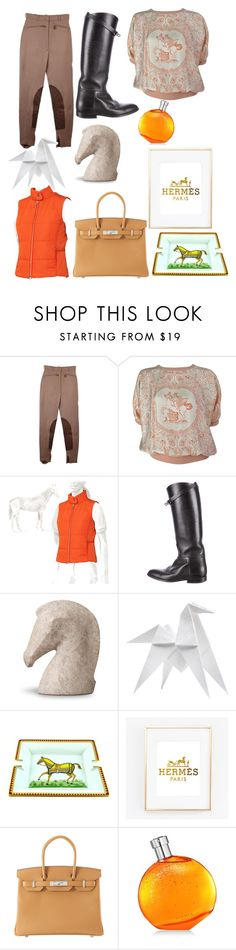 """Riding horses whit Hermès"" by liesje-2002 on Polyvore featuring mode en Hermès"