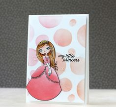 Adorable card by Laura Bassen using Simon Says stamp Exclusives. June 2014