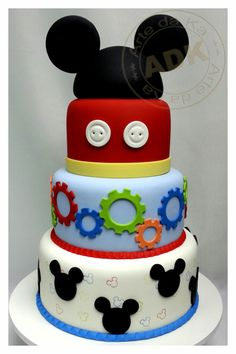 Scenic cake Mickey