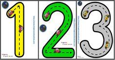 Numeros guiados para trabajar en infantil En estas fichas se practican tanto las grafías de los números del 1 al 10 como el concepto de cantidad asociado a cada número. PDF AL FINAL DEL...