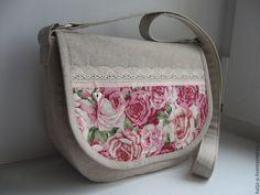 Летняя льняная сумочка – купить в интернет-магазине на Ярмарке Мастеров с доставкой
