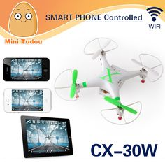 44.15$  Watch now - Minitudou New Cheerson FPV CX30W CX-30W Quadcopter Wifi Phone Control Helicopter 2.4G 6 Axis Drones With Camera HD  #aliexpresschina