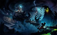 epic mickey concept art - Google Search