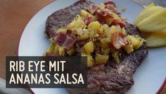 Rib Eye mit karibischer Ananas Salsa - Paleo360.de