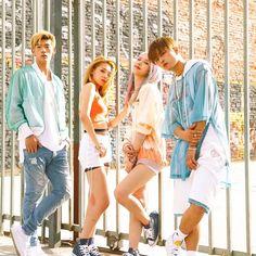 K.A.R.D #Fashion #Kpop