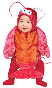 Little Lobster Baby Costume - Baby Costumes