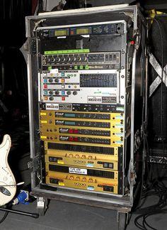Janick Gers' Rack