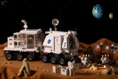 Space Exploration Rover - KRV-01 #LEGO #MOC #space