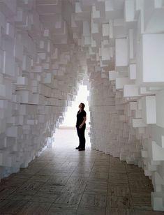 Tobias Putrih & MOS, Intervention #10 at Boijmans Van Beuningen Museum Rotterdam, 2009