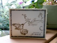 Thank you card by jasonw1 - Cards and Paper Crafts at Splitcoaststampers