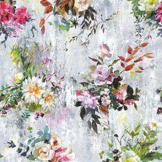 Aubriet Fuchsia Wallpaper   Designers Guild