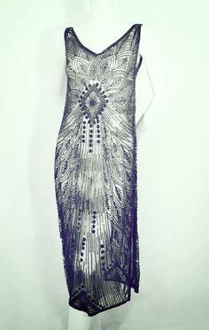 Dress, 1920s. @Jill Meyers Meyers Meyers Dyer Hasselbring Menschen  I smell Downtown Abbey a bit yea??