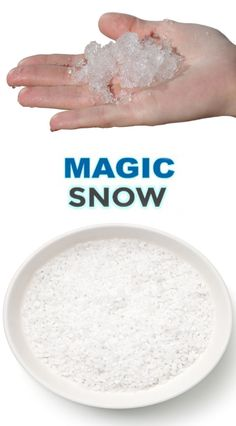 """kids of all ages and make snow that erupts! """"cool"""" science meets winter fun with this simple activity!Wow kids of all ages and make snow that erupts! """"cool"""" science meets winter fun with this simple activity! Baking Soda Experiments, Science Experiments For Preschoolers, Science Projects For Kids, Science For Kids, Activities For Kids, Science Tutor, Winter Crafts For Kids, Winter Fun, Diy For Kids"""