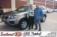 #HappyBirthday to Leonard Boatman from Mauricio Pena at Southwest KIA Rockwall!