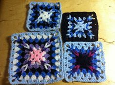 Bright Bag: amazing X granny square from Woman's Day Prizewinning Granny Squares