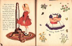 Miss Missy Paper Dolls:Little Golden Activity Book titled Little Red Riding Hood.  The book was published in 1959 by Golden Press.