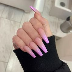 creative and newest acrylic nails designs for this year page 29 Coffin Nails coffin nails long Best Acrylic Nails, Acrylic Nail Designs, Best Nails, Acrylic Nails Coffin Ombre, Colored Acrylic Nails, Coffin Nails Long, Long Nails, Short Nails, Long Cute Nails