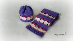- Cupcake Lovers Beanie and Scarf Set - Could this be the perfect gift for any bakers or cupcake lovers? Let everyone know who the birthday person is by tagging them with a lovely scarf or the set of Cupcake Lovers Beanie and Scarf! Possibly the most adorable set I've seen in a very long time, Cupc