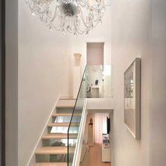 Pure White Highgate Apartment Split Into Half-Levels