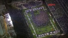 Bill Snyder Family Stadium after we beat Texas. To win the Big 12 Dec 1 2012 Kansas State University, Kansas State Wildcats, Wabash Cannonball, Bill Snyder, State Image, Best Night Ever, Life Is Like, College Life, Places Ive Been