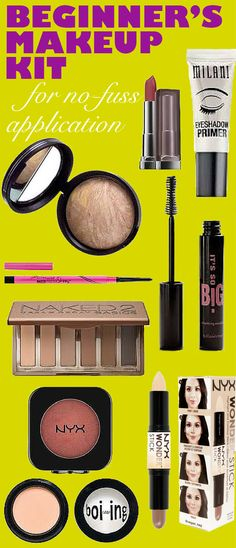 This is the complete guide to beginner's makeup! Every makeup product you need all condensed into a beginner's makeup kit!