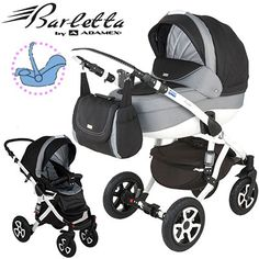 Wózek Adamex Barletta z opcją 3w1 ALU ! Ewozki.eu