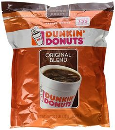 Dunkin Donuts Original Blend Medium Roast Ground Coffee, 40 Ounce -- Click image to review more details.-It is an affiliate link to Amazon.