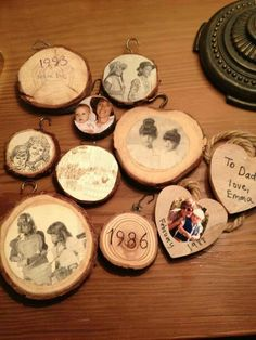 Take wood from christmas tree every year