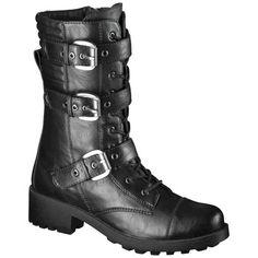 96ca6246e36 Expect More. Pay Less. Black Combat BootsMossimo ...
