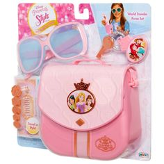Disney Princess Style Collection World Traveler Purse Set Disney Princess Toys, Disney Toys, Baby Girl Toys, Toys For Girls, Kids Toys For Christmas, Kids Toy Shop, American Girl Accessories, Kids Ride On, Princess Style