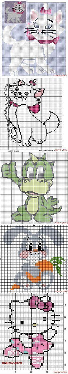 Узоры (схемки) для кофточек - Вязание для детей - Страна Мам [] #<br/> # #Disney #Cross #Stitches,<br/> # #Cat #Cross #Stitches,<br/> # #Graph,<br/> # #Disney #Cats,<br/> # #Jacquard,<br/> # #Pixel,<br/> # #Chat,<br/> # #Motif<br/>
