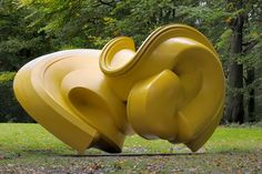 Tony Cragg: Sculptures and Drawings —  Declination, 2004 Bronze: 240 x 231 x 360 cm Cass Foundation for British Sculpture in the 21st Century © THE ARTIST Photographer: Charles Duprat