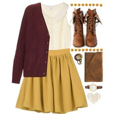 """No Place I'd Rather Be"" by vintagenerd8 on Polyvore"