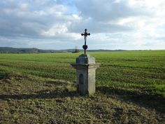 Boží muka u Tuhance- God's agony prayer marker in Tuhan, Kryml/Krymlova - Roubicek family