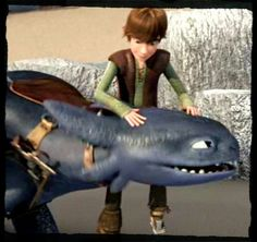 Hiccup and Toothless DOB