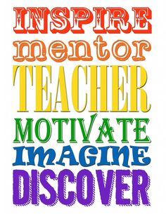 I want to be the best teacher I can be and inspire my students to live a long, healthy life